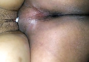 My horny wife'_s creampie pussy