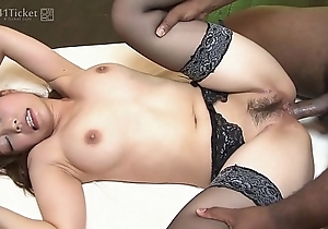 41Ticket - Yui Ayana Fucks Malignant with an increment of Asian Dick in Threesome (Uncensored JAV)